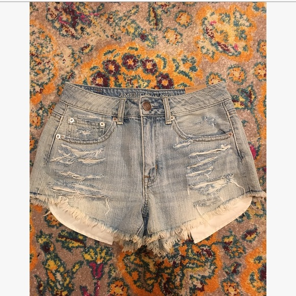 American Eagle Outfitters Pants - American Eagle High Waisted Shorts